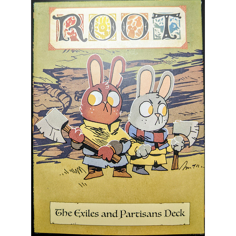 Root: The Exiles and Partisans Deck image